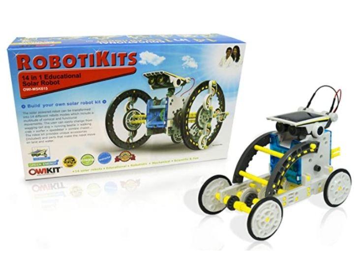 Robotime DIY Solar Power Robot Kit
