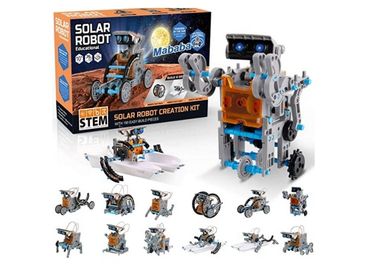 Mababa 12-in-1 Robot Building Kit for Kids