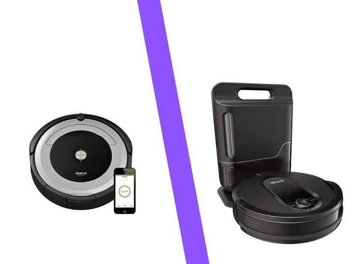 Roomba v Shark Robot Vacuum cleaner