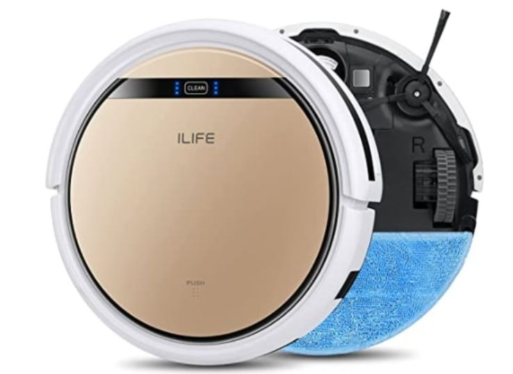 10.ILIFE V5s Pro, 2-in-1 Robot Vacuum, and Mop