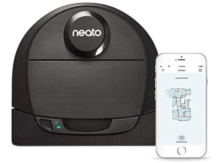 5.Neato Robotics D6 Connected Laser Guided Robot Vacuum