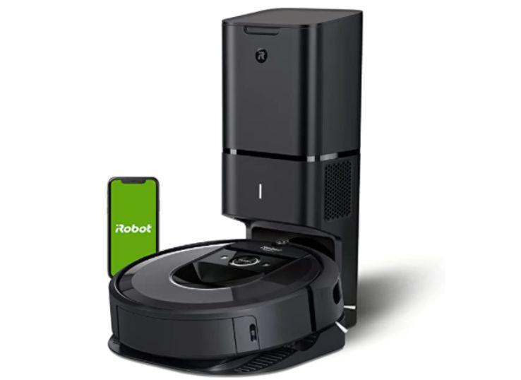3.iRobot Roomba i7+ (7550) Robot Vacuum: