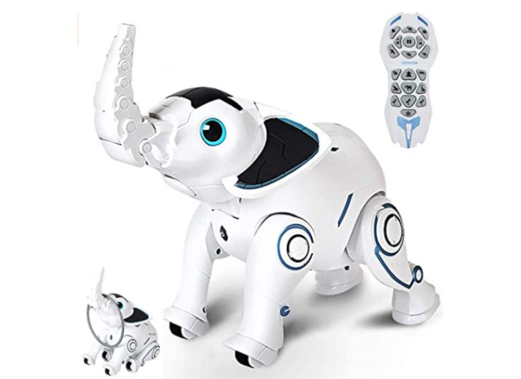 WomToy Remote Control Elephant Robot